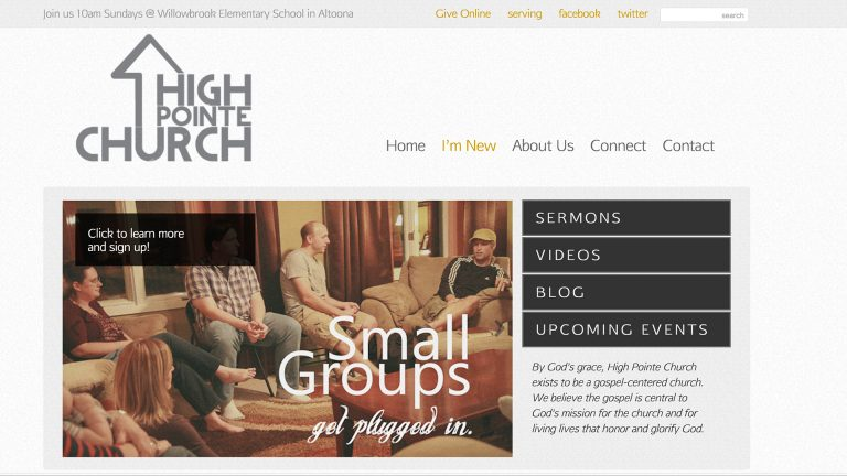 High Pointe Website