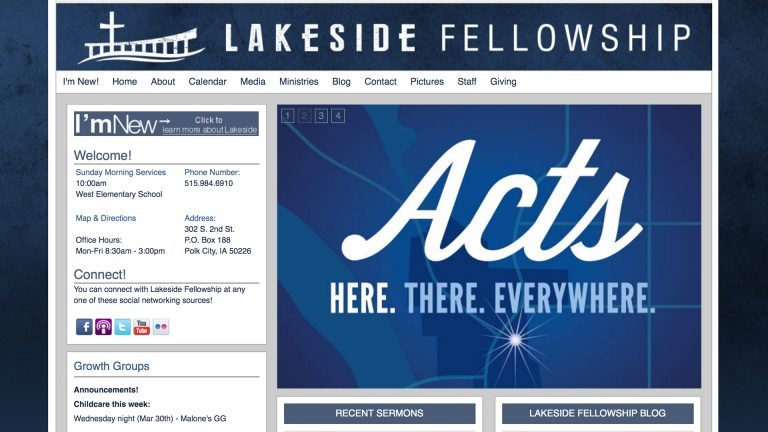 lakeside website