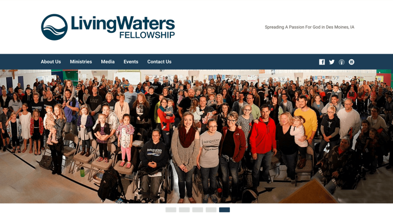 living waters website