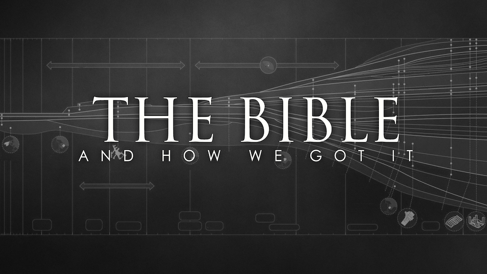 how we got the bible How we got our bible: a gallery of mavericks & misfits the key players in the  history of the bible haven't necessarily been popular—or orthodox stephen m.